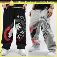 Winter cotton baggy Sweatpants,Drop Crotch Hip Hop Slacks,Run Pantalon Jogger Trousers,RHINO brand Men Sport Pants plus size 3XL