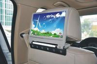 Hot new high quality 9 inch car dvd Player headrest + MP5 + 720P + IR +Game+IR+USB+SD+FM