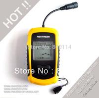 Portable Sonar LCD Fish depth Finder Alarm 100M AP fishing finder,ice fishing finder,
