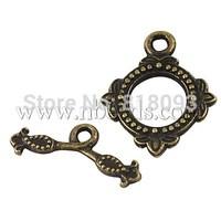 Tibetan Style Toggles & Tbars,  Lead Free & Cadmium Free & Nickel Free,  Rhombus,  Antique Bronze Color