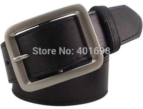 Men's Fashion Faux Leather Premium Shape Metal Strap Ceinture Buckle Belt 3 colors P1305 cintos cinturon(China (Mainland))