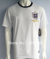 new 2013/14 england home white soccer football jerseys top thailand quality Players version soccer uniforms free shipping
