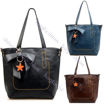 2013 Fashion bags Women shoulder handbag Messenger Leather Totes bag for girls Free shipping11193