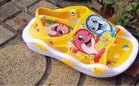 2013 new style children's summer sandals pvc shoes kid's sandals boys girls unsex cartoon sandals slippers sound
