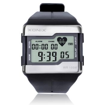 Xonix сердечного ритма монитор цифровой вне военный многофункциональный спорт мода часы водонепроницаемый 100 м бесплатная доставка