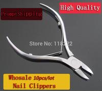 Free Shipping.Wholesale 10pcs/lot -  Cuticle Nipper Cutter Nail Art Clipper Manicure Tool for Trim dead skin, cuticle  hangnail