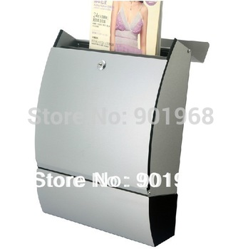 Apartment house stainless steel-wall mounted mail box-letter box-post box