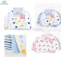 3pcs/lot Hot sale USA Luvable Friends Baby Caps for Boys Girls, Newborn Boy Hats 3-Pack Infant Caps,0-3 months