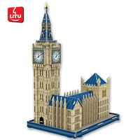 LITU 3D PUZZLE_world's famous architecture_Big Ben