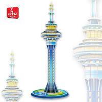 LITU 3D PUZZLE_world's famous landmark_Sky Tower