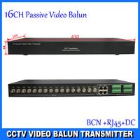 CCTV 16CH Passive Video BNC to UTP RJ45 Camera DVR Balun, 16 CH Passive Video Balun, CE ,FCC  Certification DS-UP161D