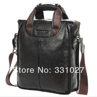 2013 fashion Genuine leather men shoulder bags Quality guaranteed Brand New Authentic men bags Men's business bag