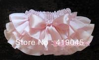 Hot Selling Baby Girls TUTU Bow Skirt White Falbala Ruffle Skirt Cotton Blended  For 1T-3T 1082