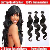 queen hair products indian virgin hair body wave 3pcs lot mix lenghts Luvin hair  Free Shipping india remy
