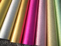 Gold silver foil ktv  hotel ceiling background wallpaper roll/ glitter vinyl material  decorative  silver bars for sale