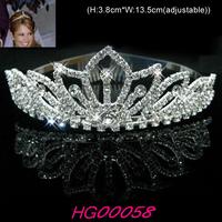 2013 classic rhinestone  wedding/bride/pageant Tiara/Crown