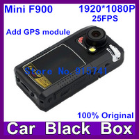 2013 Newest Mini F900 Car Camera With GPS  Full HD 1080P  G-sensor H2.64 5.0M Pixels FNight Vision 4x Digital Free Shipping