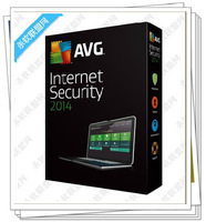 Wholesale-Computer Safety AVG Internet Security 2014 3year 3pcs 3 users in stock newest edition