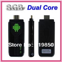 UG007 II Android 4.2.2 Stick Mini PC Dual Core TV box RK3066 Cortex A9 1GB RAM + 8GB ROM + 3D WiFi Bluetooth tv dongle HDMI