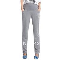 Free Shipping 2013 autumn new, Korean style maternity pants, 100% carton fashion plus size pants of pregnant women, M, L and XL