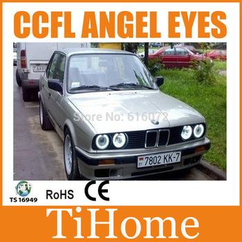 Free Shipping  CCFL ANGEL EYES FOR BMW E32/E34/E30 , E32/E34/E30 NON PROJECTOR HALO RING, E32/E34/E30 CCFL ANGELEYES LIGHTS