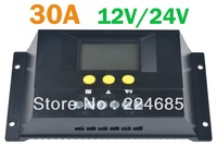 30A Solar Panel Battery Charge Controller Regulator SOLAR30 Charger 30A 12V 24VDC AUTO 360W/720W Solar Controller