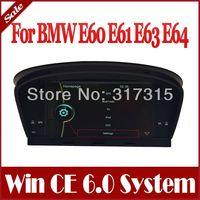 "8"" Car DVD Player for BMW 5 Series E60 E61 E63 E64 M5 2003-2010 w/ GPS Navigation Radio TV BT SD USB AUX Audio Multimedia Stereo"