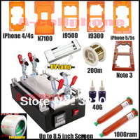 1 kit !Separator machine for remove separate lens Glass from lcd Screen ,for Samsung galaxy i9500 i9300 n9000 n7100 ,for iphone