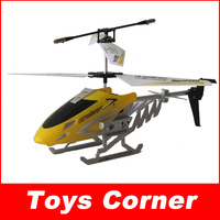 Wholesale Remote Control Toys DONGHUANG(807-1) 3.5 Channel Alloy RC Helicopter with Gyro and Flashlight