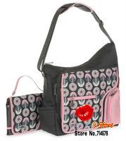 FREE SHIPPING ORIGINAL VERSION dot carter nappy bag pink spot mummy bag high quality carter baby bag microfiber mummy handbag