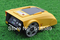 Remote Robot Lawn Mower LF008 Newest Funciton with Compass+lead-acid battery+Remote Controller+600m wire and 600pcs pegs