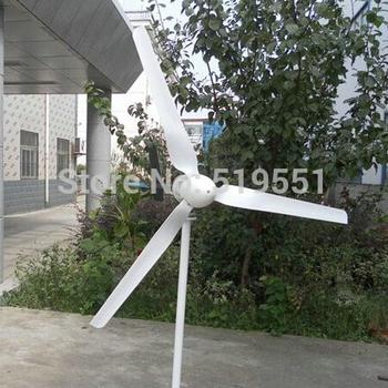 Wind turbines 1000W 3 Leaf blade Wind power generation 1400W max  24V or 48V