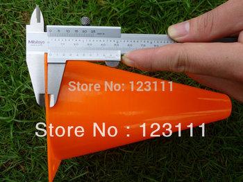 7'' PE Soccer Football cross training cones/track Sports agility marker/marking cone Coaching speed training aid Versatile 12pcs