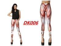 Free Shipping The LOOKBOOK  Muscles Leggings Stretch Pencil Pants Female Sexy Style  Wholesale  MADE TO ORDER BLACK MILK