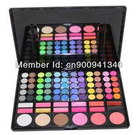 Free Shiping Cheap Beauty Product Series-- 3#P78 78 Color Eyeshadow / Cheek Blush /Pressed Powder/ Make Up Set