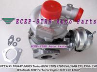 NEW GT1549V 700447-5008S 700447 11652248901 Turbo Turbocharger Fit For BMW 318D ;320D E46;520D E39;1998- Engine M47 2.0L 136HP