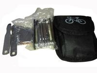 Free Shipping 16pcs Cycling Bike Bicycle Riding Multi-function Repairing Tool With Portable Tube Bag Bike Repair Tool