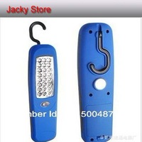 24 LED Vehicle CAR maintenance/Repair lights Auto inspection lamps 24LED 360 degree swivel hook and magnet
