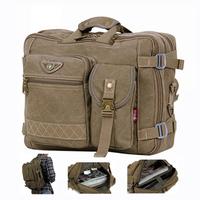 """14"""" canvas laptop shoulder messenger bags Designer books and computer case bag  for men Free shipping"""