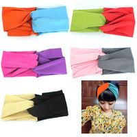 10pcs/lot 2014 Best Selling! Mulitfunctional Fabric Seamless Bandana hijab Turban Headband Headscarf for women Wholesale TJ13002