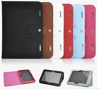 "New Stand Folid PU Leather Case Cover For Lenovo IdeaTab A2109 9"" Tablet Free shipping"