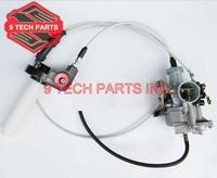 KEIHIN PZ30 30mm Carburetor Kit Slid Carb Power Jet Accelerating Pump + Visiable Transperent Throttle Settle + Dual Cable