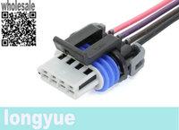 longyue 20pcs universal Ignition Coil Connector Wiring Pigtail Idle Speed Sensor Fuel Pump plug LS2 LS7 D581 D585 30cm wie