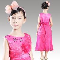 2014 New Hot Brand Baby Girls Dresses girls Princess Party Dress, Cute Frozen Tutu Qaulified Perform Cloth, Princesses Dress H01
