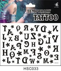 Временная татуировка 033 hsc033 178 купить временная регистрация через уфмс