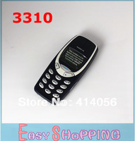 Original Nokia 3310 original unlocked mobile phone with Russian language and English Keyboard  Free shipping