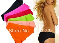 Free shipping  2013 new Hot sale vs seamless  colorful  women panties women's briefs 12.5$/3pc