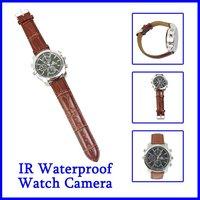 HD Waterproof video recorder mini camera with watch shape JPEG photo USB 2.0  4GB Free Shipping