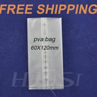 Free shipping 100 pcs PVA  bag 60mm*120mm for Carp fishing tackle