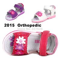 Super Quality 1pair Children Girl Orthopedic Shoes,BRAND kids Fashion Sandals, kids shoes ,New Design